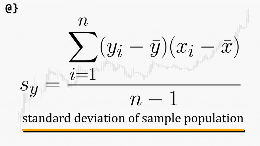 standard deviation sample population