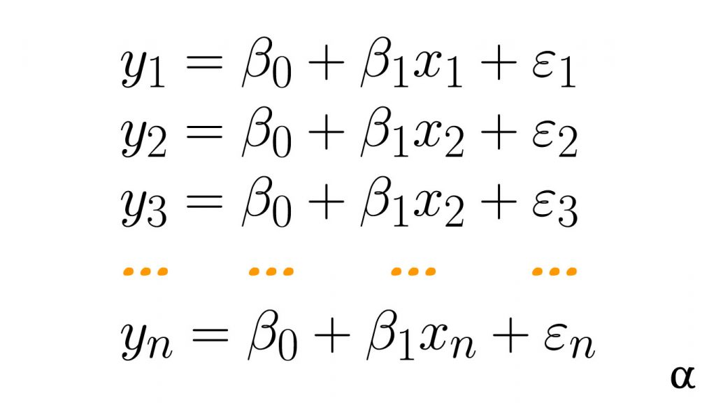 linear equation n terms expression