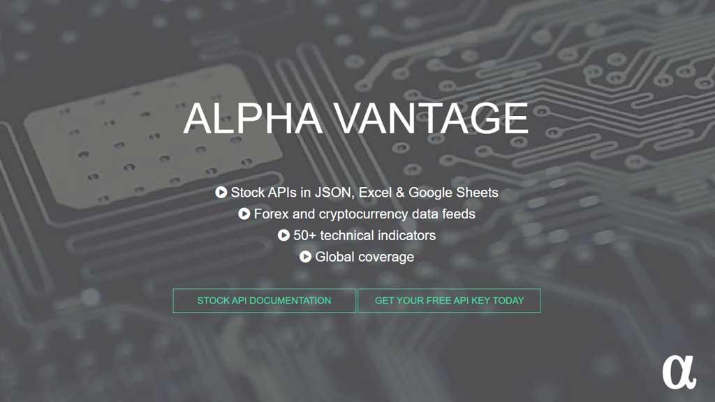 alpha vantage api pyhton financial data