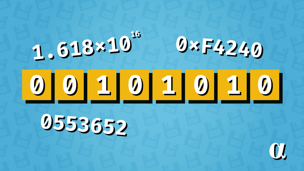 numerical representation formats alpharithms