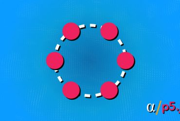 Spacing Objects Evenly Around Circle P5JS banner
