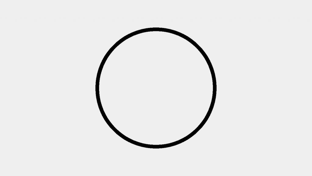 p5js circle