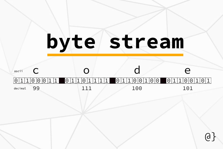 byte stream illustration