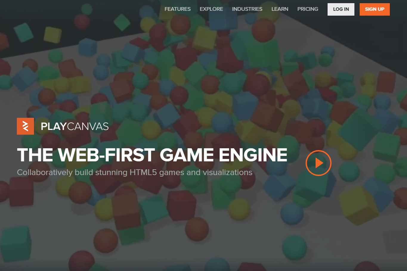 javascript game engines play canvas