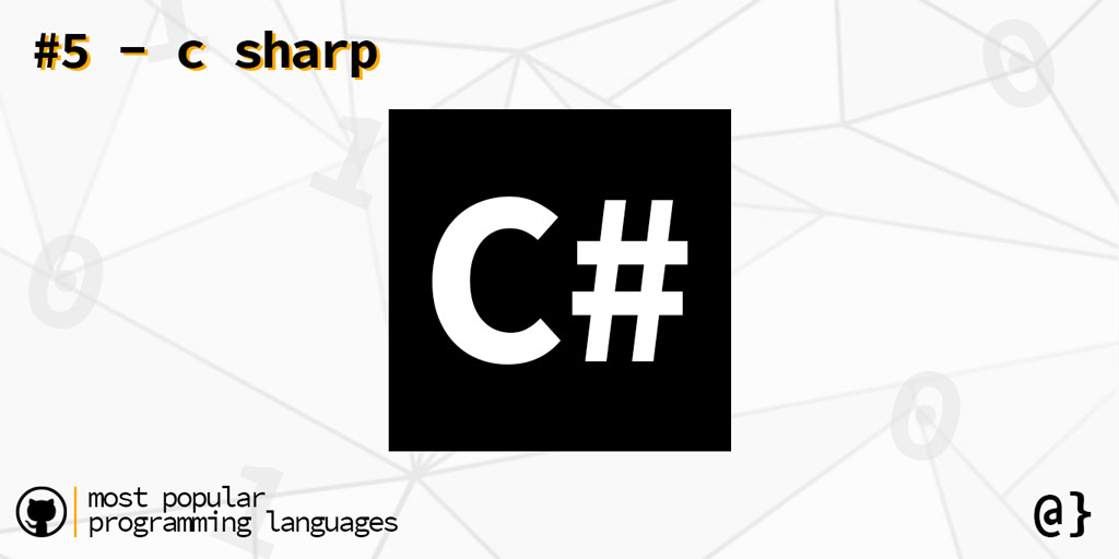 popular programming languags 5 csharp overcoded