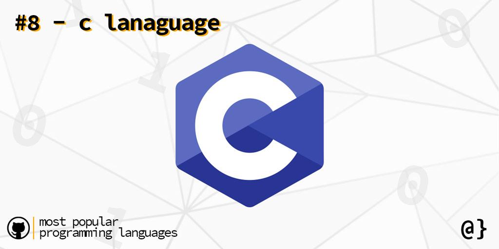 popular programming languags 8 c language overcoded
