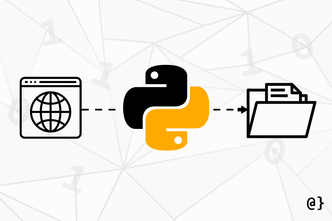 python download file illustration overcoded