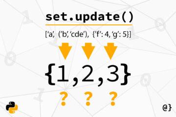 python set update method