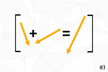vector matrix addition banner
