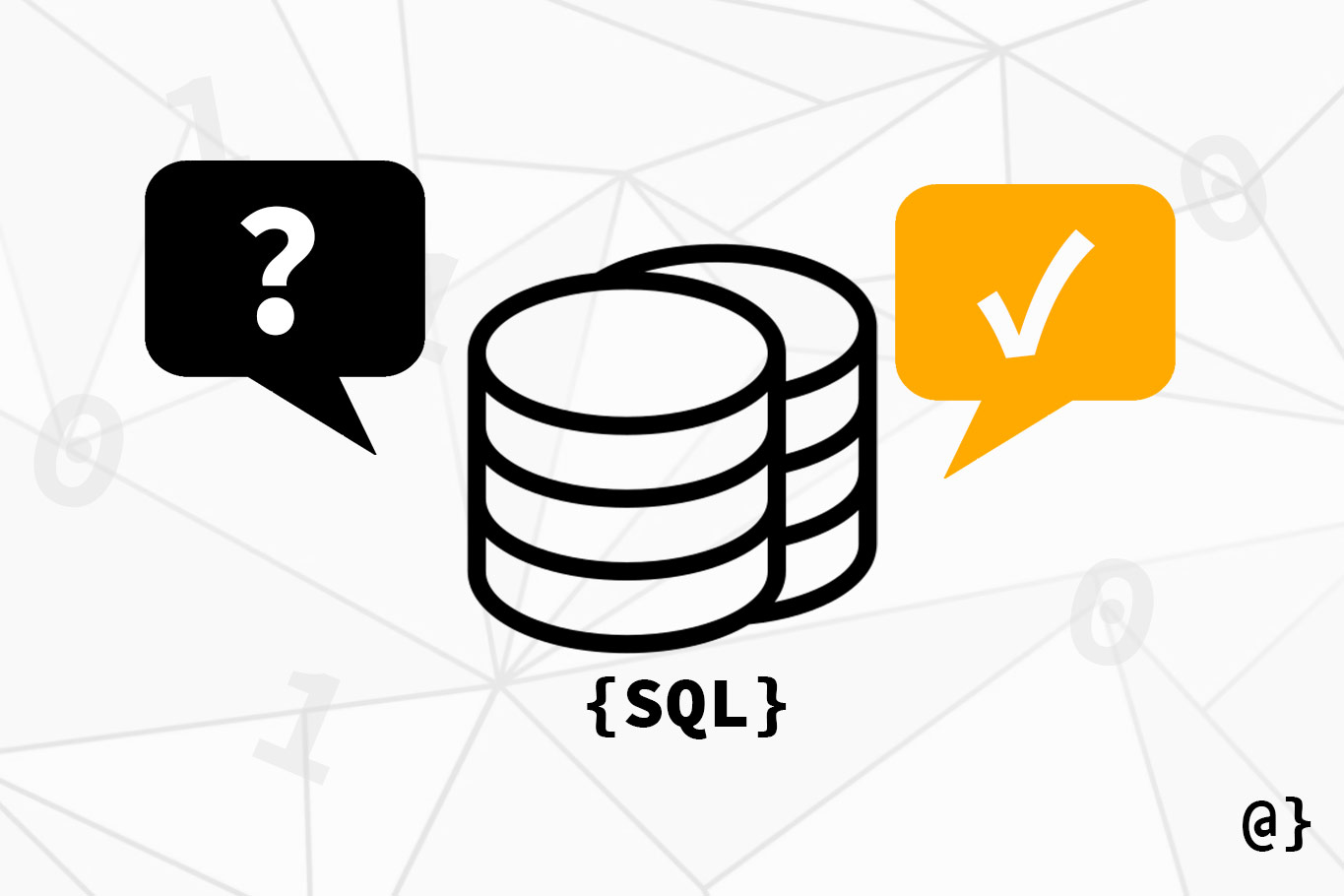 structured query language sql illustration overcoded