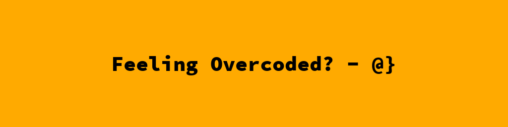 overcoded pillow text on image tutorial initial result