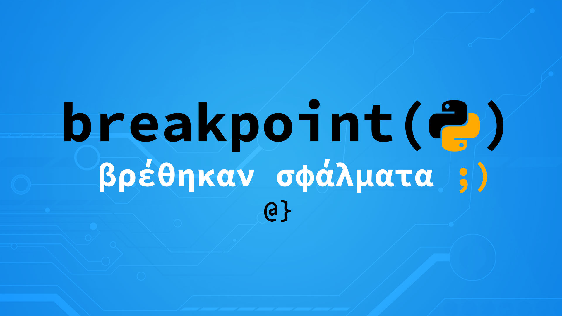 breakpoint function python