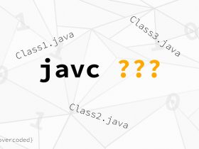javac compiling multiple files console redirection